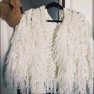 Shaggy Fringe Jacket